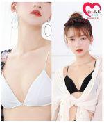 Áo lót ngực nữ không gọng dây bún màu trắng đẹp giá rẻ